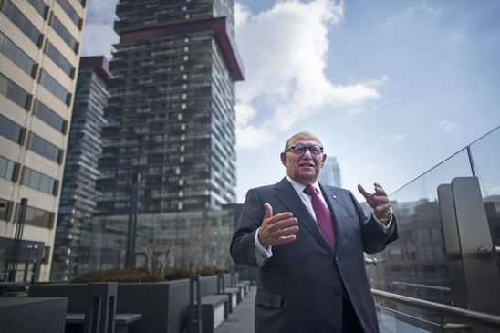 Reinventing RioCan: Ed Sonshine plots a new course for the REIT as he ponders his own next steps