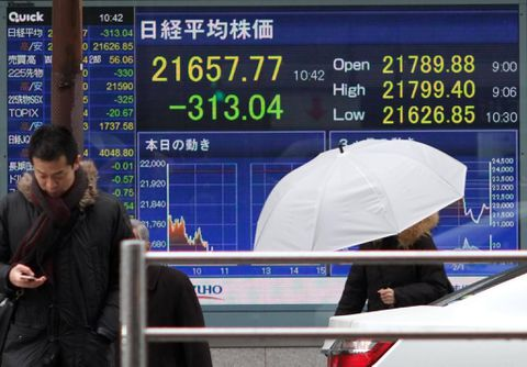 Asia Stocks Look Mixed; Dollar, Bond Yields Climb: Markets Wrap