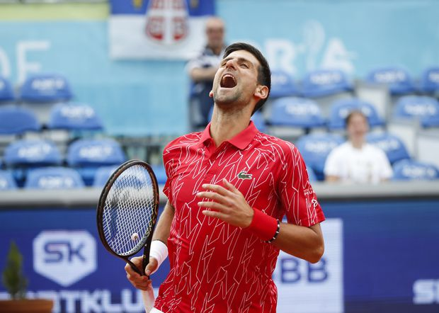 Novak Djokovic Excited To Play In Front Of Fans At Charity Tournament The Globe And Mail
