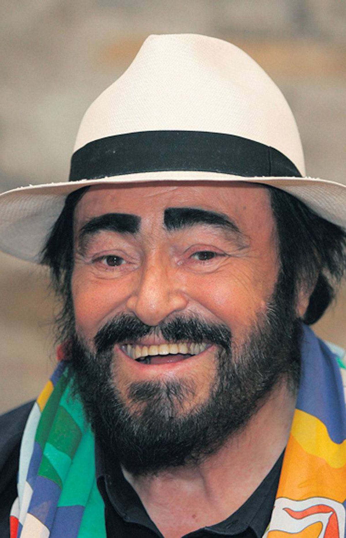Luciano Pavarotti: Grizzled legend
