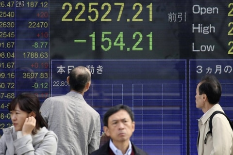 Asian Shares Subdued After Wall Street Retreats Euro Slips