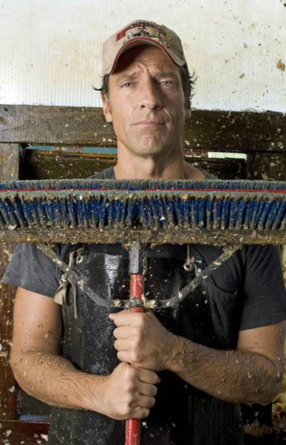 REALITY Dirty Jobs Discovery, 9 p.m. If any man needs a break in his work routine, it's Mike Rowe. Over six seasons and more than 150 episodes, he's rolled up his sleeves to perform hundreds of nasty vocations that would have most people running for the door. Take your pick: Roadkill cleaner or maggot farmer. But Iron Mike never complains, so he probably deserves the break he received shooting tonight's episode. He first becomes a jelly-bean maker at the factory of U.S. candy giant Jelly Belly. Next, he goes blueberry harvesting and then bakes a lovely blueberry pie. Back to the nasty stuff next week.