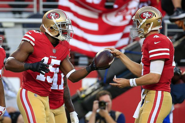 Plenty of game balls for 49ers in big win over Raiders