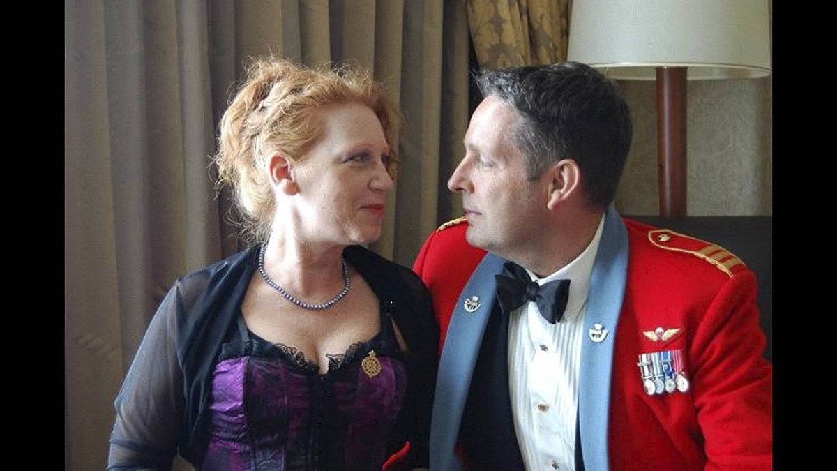 Tod Strickland photo: Tod and Zoe - Taken at the 2010 Army Ball