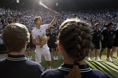 Murray's Wimbledon win leaves lasting legacy in small Scottish town