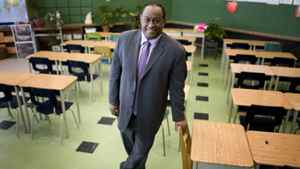 Chris Spence is the new director of education at Toronto's public school board.