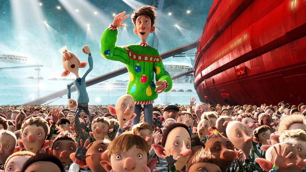 Family Movies Arthur Christmas (Nov. 23) From Aardman Animations (Wallace and Gromit, Chicken Run) comes this tale of Santa's youngest son (the voice of everyone's favourite elfin Brit, James McAvoy), who bucks the current high-tech gift-distribution system to deliver one overlooked present the old-fashioned way. 4/5