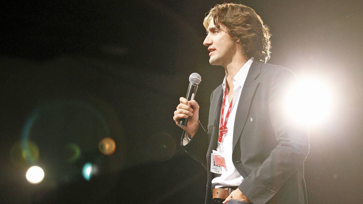 Montreal MP Justin Trudeau speaks at the Liberal policy convention in Ottawa on Jan. 14, 2012