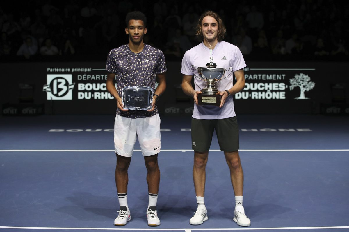 Felix Auger-Aliassime loses to Stefanos Tsitsipas in Open 13 Provence final