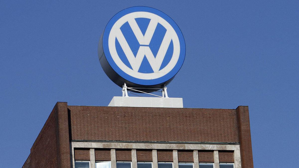 In this Feb. 24, 2011 file photo the Volkswagen logo is photographed at the company's headquarters at the Volkswagen plant in Wolfsburg, Germany.