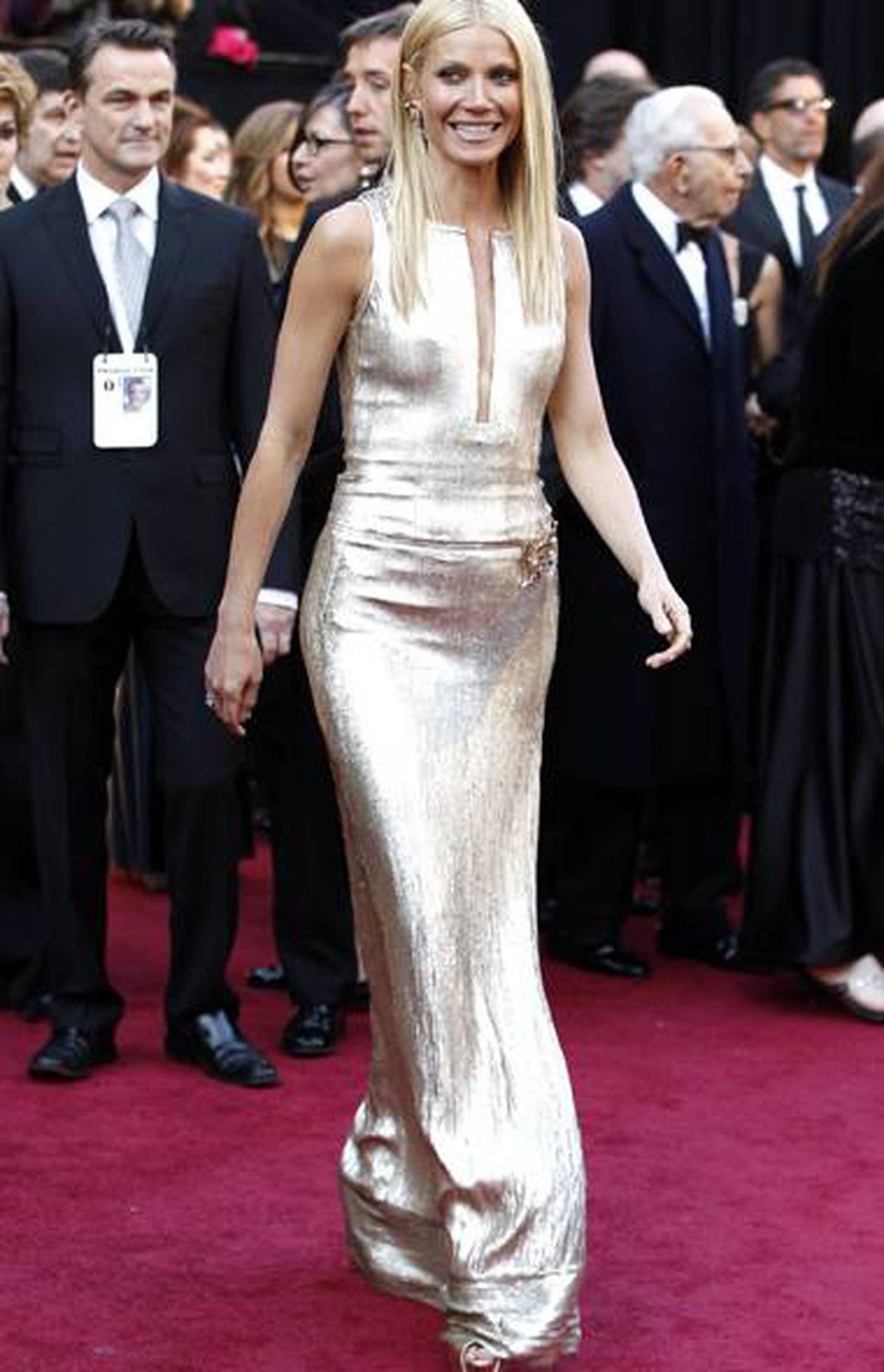 Actress Gwyneth Paltrow arrives at the 83rd Academy Awards in Hollywood, California, February 27, 2011.