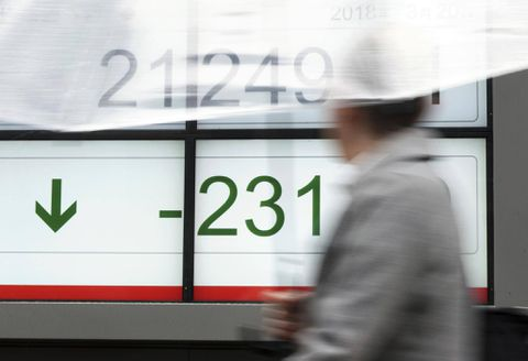 Nikkei falls as tech shares weak; investors cautious before holiday and Fed