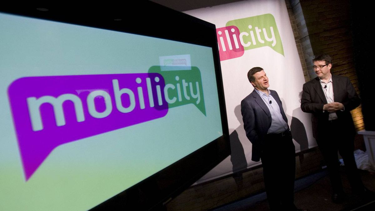 File photo of Mobilicity launch in Toronto, Feb. 2, 2010.