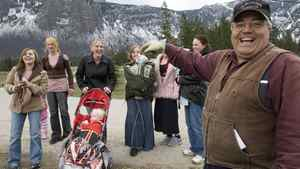 Winston Blackmore the religious leader of the polygamous community of Bountiful located near Creston, B.C. shares a laugh with six of his daughters and some of his grand children Monday, April 21, 2008 near Creston, B.C.