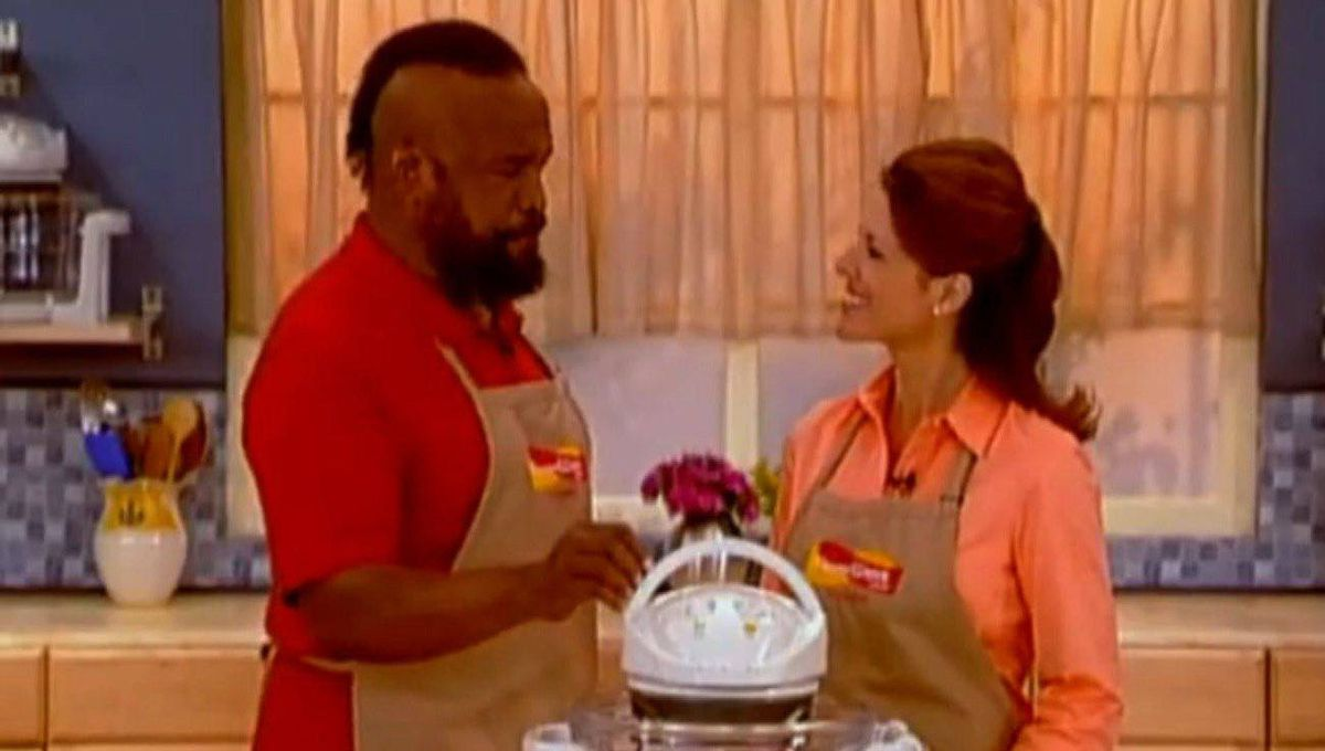 Mr. T flogs the FlavorWave Oven in a Thane infomercial. Thane says it receives an average of between eight and 10 orders for each half-hour spot it airs, in each market on a global basis.