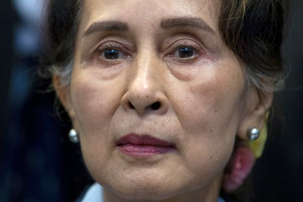Aung San Suu Kyi's dark turn was right in front of us all along