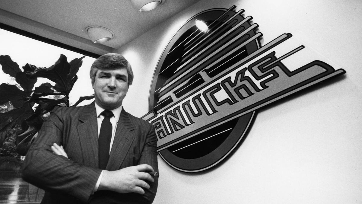 Pat Quinn arrived from the Los Angeles Kings as general manager and president of the Canucks in mid-1987. Originally published March 4, 1989