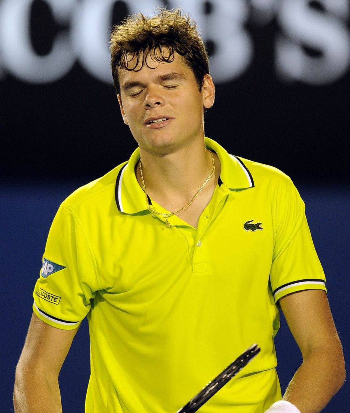 Milos Raonic Serving up a dark, handsome Canadian ace should help wash away the bad taste left by Australian tennis player Mark Philippoussis, whose 2007 NBC dating show, Age of Love, shamelessly pitted Cougars against Kittens. (He chose a 25-year-old dancer for the Nashville Predators.)