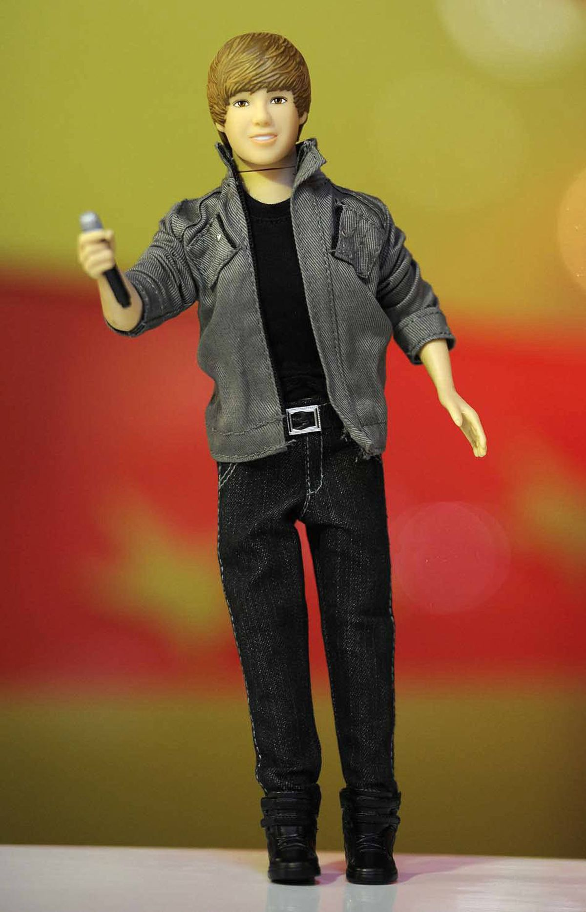 On June 28, Hamleys toy store in London, England, predicted that this Justin Bieber singing doll would be one of the hottest-selling toys this Christmas. There has been no evidence of this being true.