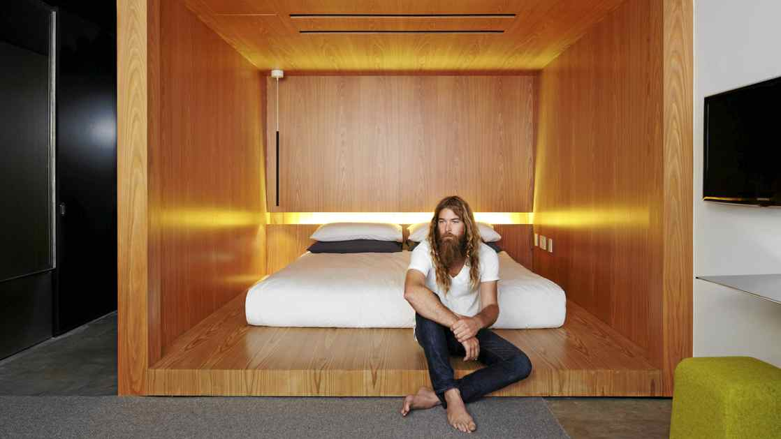 A room at the Hotel Americano in New York, hipster not necessarily included.