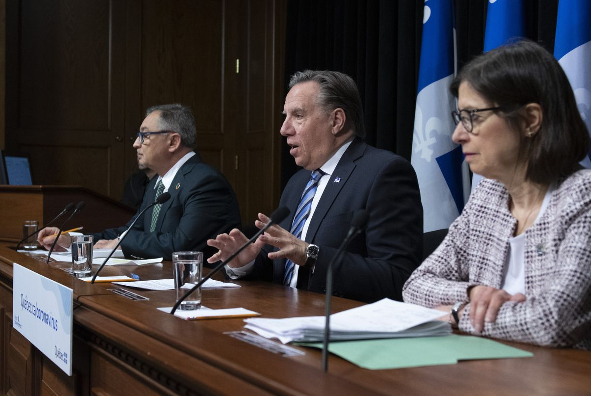 Quebec Premier Legault sounds optimistic note, says new COVID-19 stats 'extraordinary'