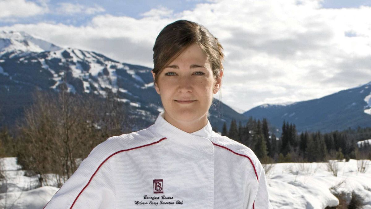 Melissa Craig is the executive chef of Whistler's Bearfoot Bistro.