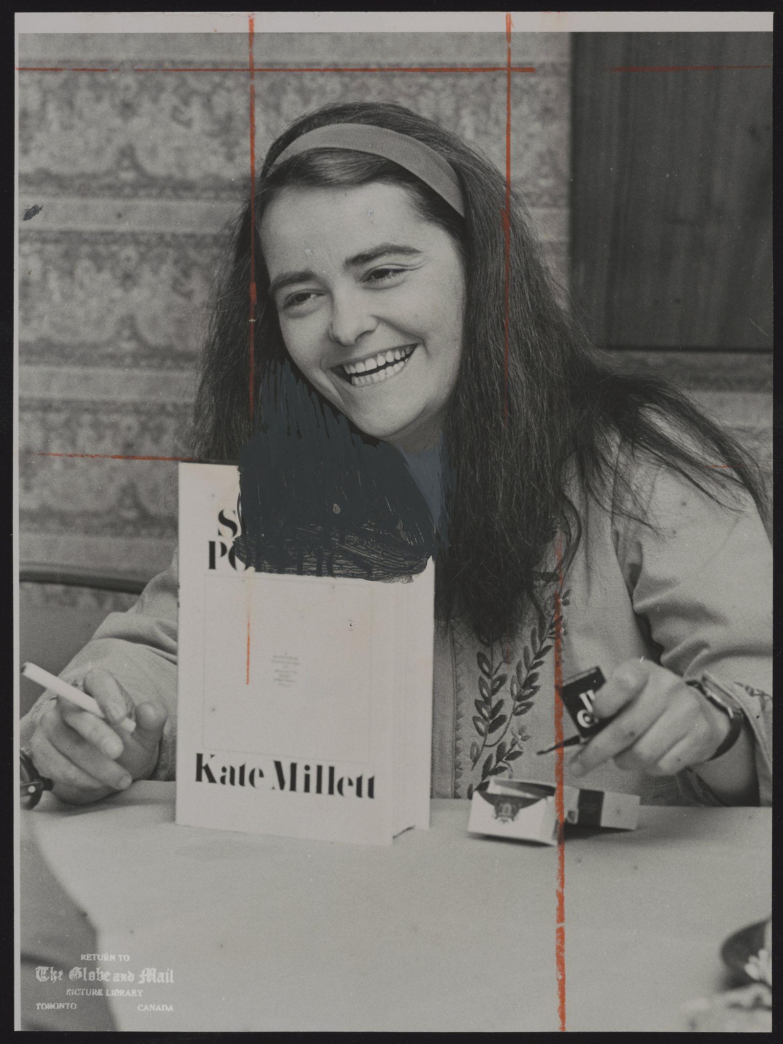 Kate MILLETT U.S.A. Author. Women's Liberation.