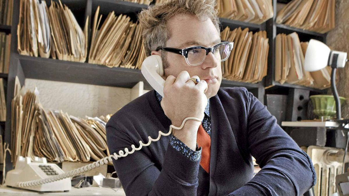 Steven Page, formerly of Bare Naked Ladies, now on the phone