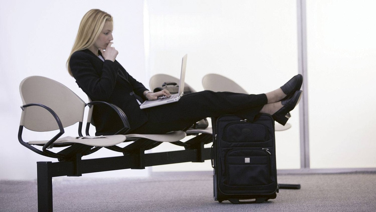 Whether it's in a conference centre, a hotel room, or an airport lounge, there's a number of items – both physical and virtual – that can make your extended office work.
