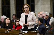 Indigenous Services Minister Jane Philpott during question period in the House of Commons on Parliament Hill in Ottawa on Dec. 10, 2018.