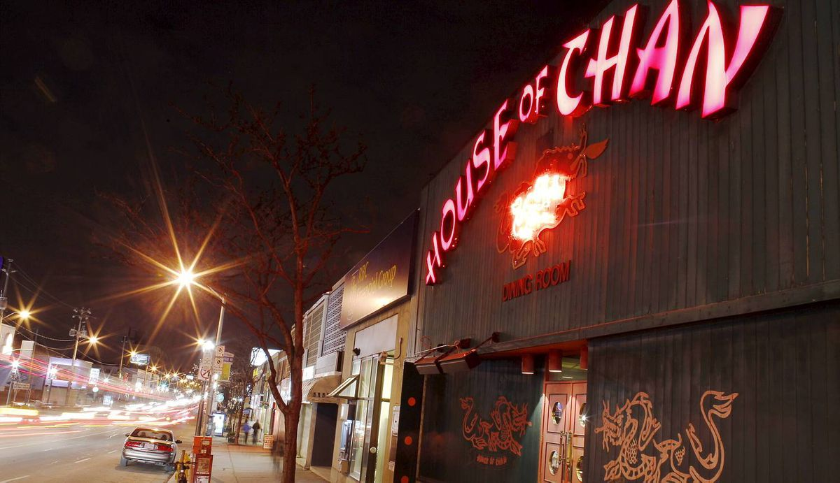 For decades, the House of Chan has been a standby, a place to see and be seen on Eglinton Avenue West. When the Eglinton LRT is installed, the restaurant will be demolished to make way for an LRT exit.