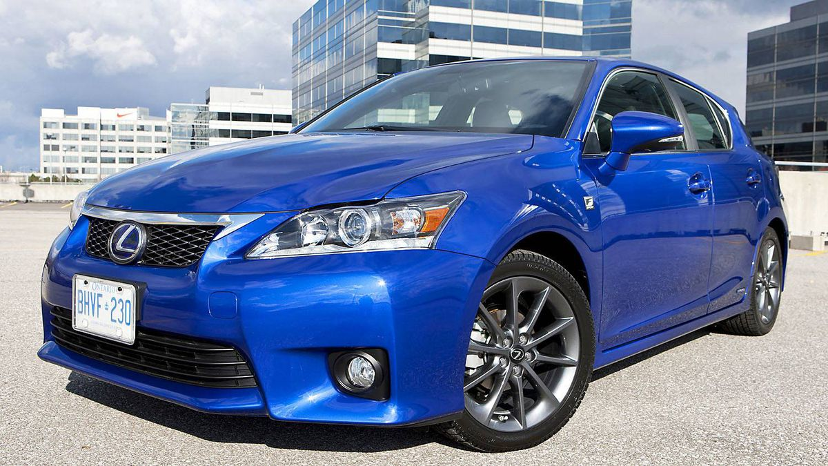 Lexus CT 200h ($30,950 base): Largely based on the Toyota Prius, this up-market hybrid is affordable and stylish.