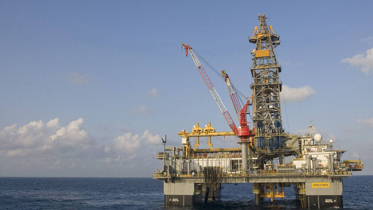 Nexen's ENSCO 8501 rig in the Knotty Head region of the Gulf of Mexico.