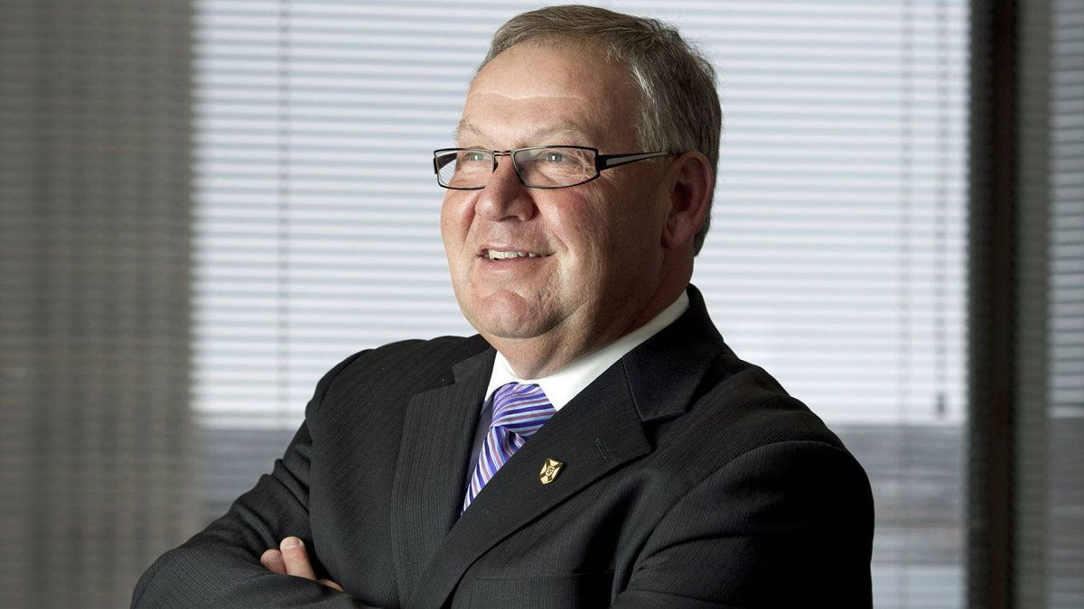Nova Scotia Premier Darrell Dexter gives an interview in his Halifax office on March 1, 2012.