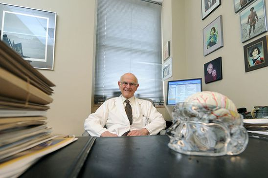 Dr. Charles Tator 'reasonably hopeful' cannabinoids could help with treatment of postconcussion issues