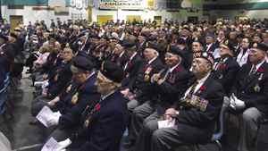 David MacRury photo: Remembrance Day, Sydney Nova Scotia