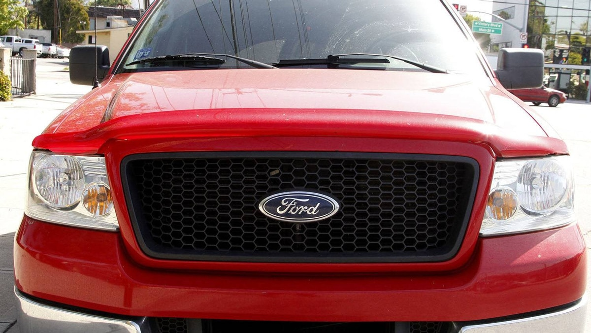 A Ford F-150 truck is parked in Burbank, California April 14, 2011.