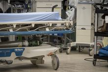 The trauma bay is photographed during simulation training at St. Michael's Hospital in Toronto on Tuesday, August 13, 2019. The Alberta government, fresh off failed contract bargaining talks with doctors, is ending its longstanding master agreement with them and putting new rules in place starting April 1. THE CANADIAN PRESS/ Tijana Martin