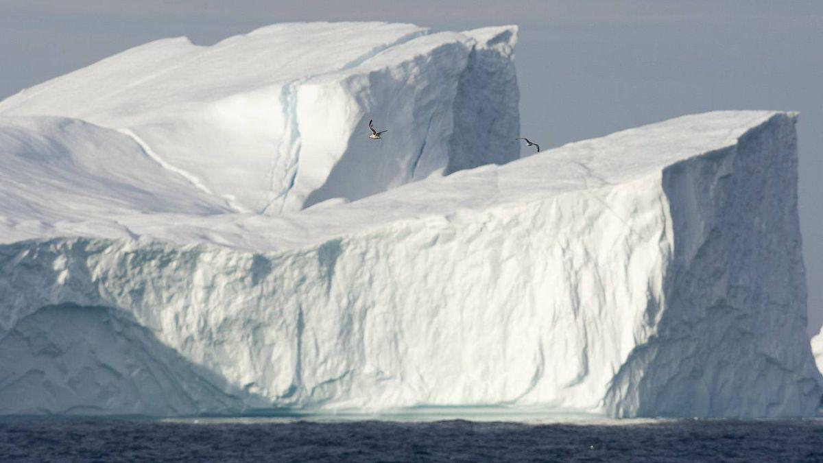 An iceberg in the Davis Strait