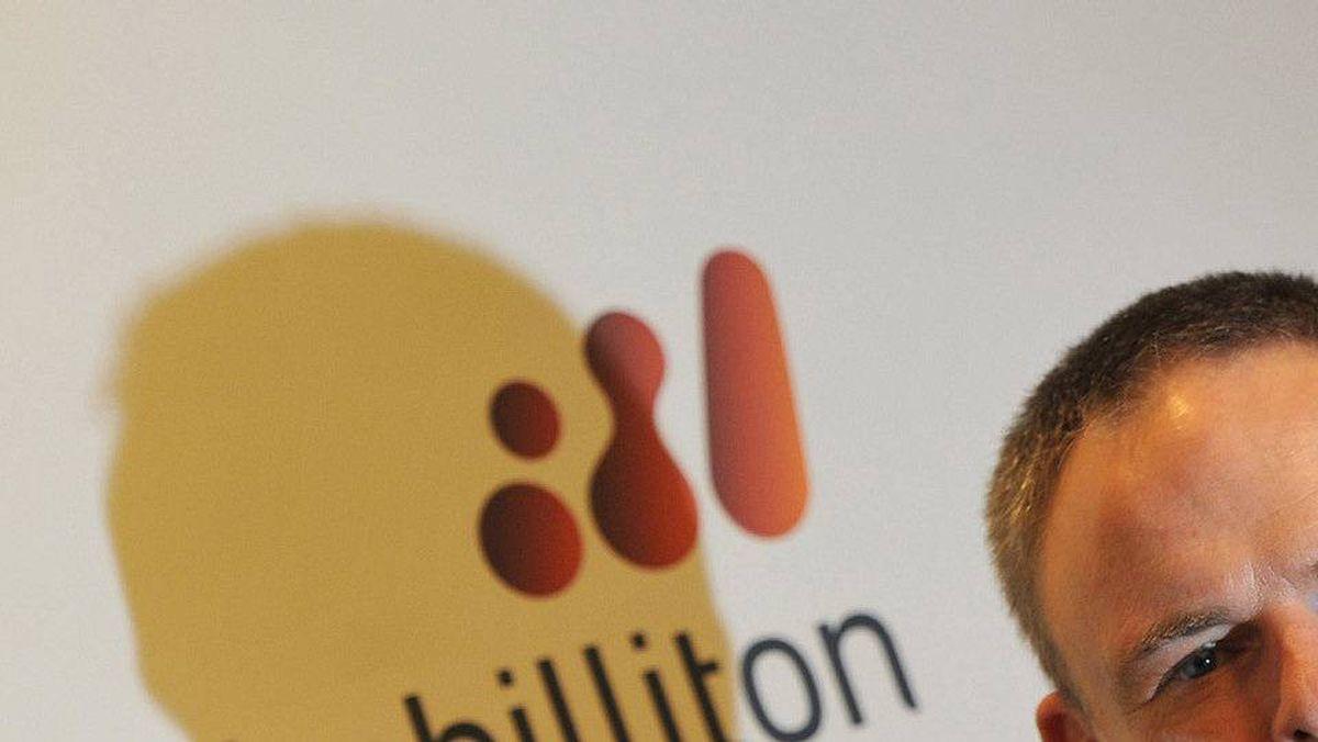 BHP Billiton CEO Marius Kloppers