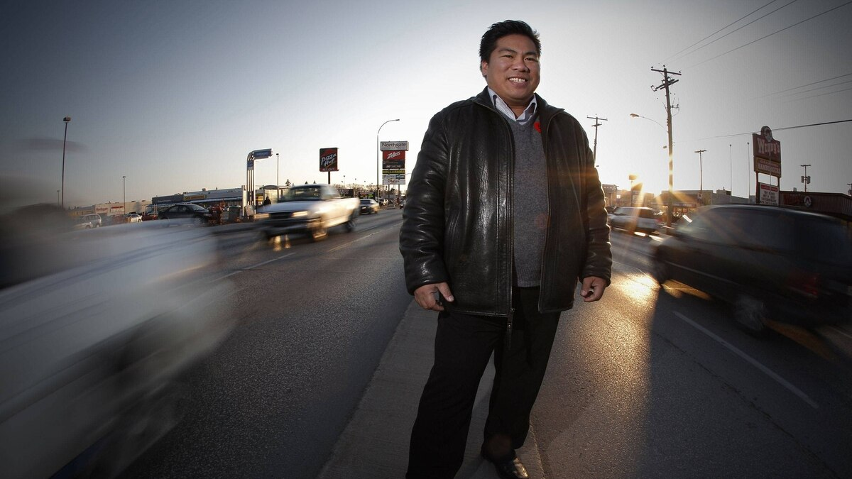 Mike Pagtakhan is still Winnipeg's only Filipino-Canadian city councillor, a decade after he went into politics.