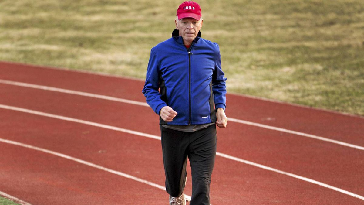 Peter Verwoerd, 62, has been a runner for twenty years but for the past few years his running has been motivated by the death of his 38-year old son, Francisco who passed away following a lengthy battle with cancer. Mr. Verwoerd was photographed in Toronto on March 17, 2011.