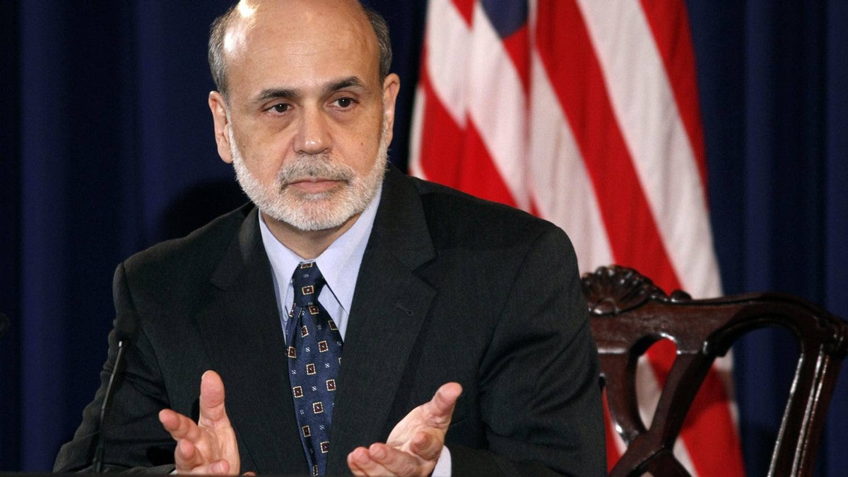 Federal Reserve chairman Ben Bernanke. The U.S. central bank is adopting transparency in a bid to give Americans confidence over future interest rate moves.
