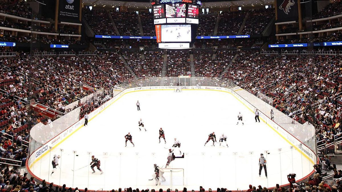 Jobing.com arena. (Photo by Christian Petersen/Getty Images)