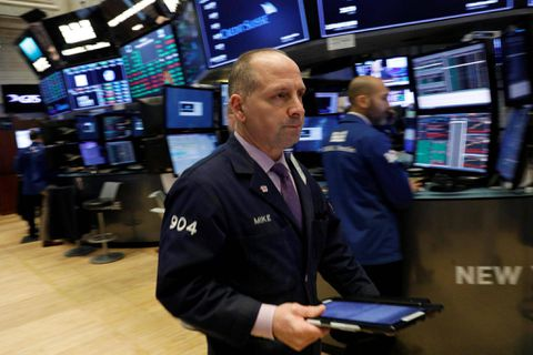 Dow, S&P hit records but Nasdaq loses ground