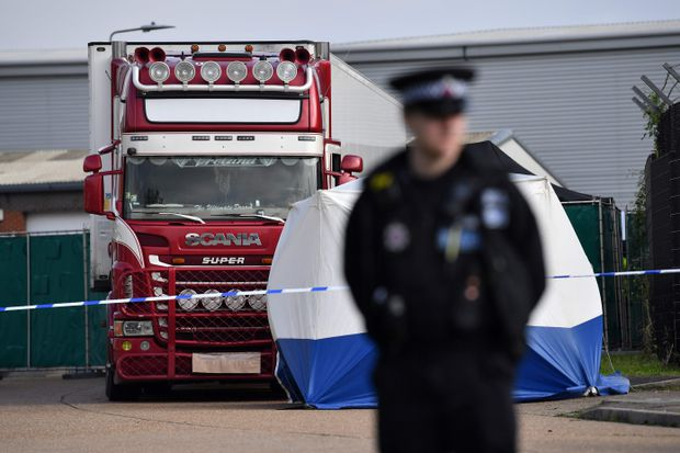 Vietnamese boys among UK truck victims