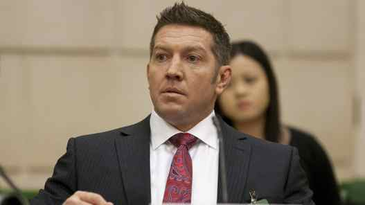 Former NHL player Sheldon Kennedy appeared as a witness in 2010 at a House of Commons public safety committee on a bill to eliminate pardons for serious crime.