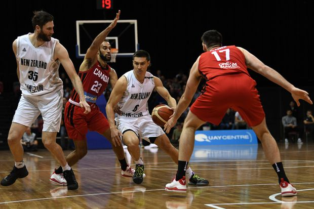 Canadian men's basketball team completes pre-World Cup sweep of New Zealand