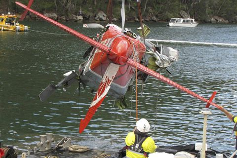 Sydney seaplane 'should not have been where it was'
