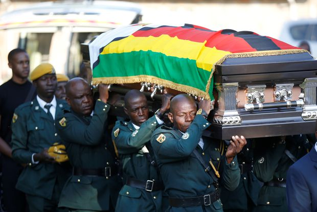 Former Pres, cde Mugabe to be buried in Zvimba